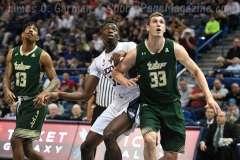 NCAA Men's Basketball - AAC Tournament FR - #6 UConn 77 vs. #11 USF 66 (23)