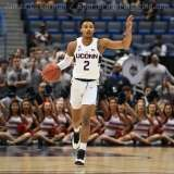 NCAA Men's Basketball - AAC Tournament FR - #6 UConn 77 vs. #11 USF 66 (27)