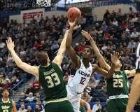 NCAA Men's Basketball - AAC Tournament FR - #6 UConn 77 vs. #11 USF 66 (36)