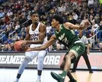 NCAA Men's Basketball - AAC Tournament FR - #6 UConn 77 vs. #11 USF 66 (47)