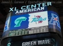 NCAA Men's Basketball - AAC Tournament FR - #7 Tulsa 66 vs. #10 Tulane 60 (2)