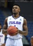 NCAA Men's Basketball - AAC Tournament FR - #7 Tulsa 66 vs. #10 Tulane 60 (20)