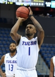 NCAA Men's Basketball - AAC Tournament FR - #7 Tulsa 66 vs. #10 Tulane 60 (21)