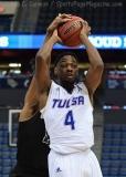 NCAA Men's Basketball - AAC Tournament FR - #7 Tulsa 66 vs. #10 Tulane 60 (22)
