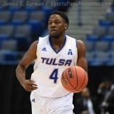 NCAA Men's Basketball - AAC Tournament FR - #7 Tulsa 66 vs. #10 Tulane 60 (24)