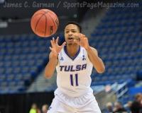 NCAA Men's Basketball - AAC Tournament FR - #7 Tulsa 66 vs. #10 Tulane 60 (38)