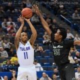 NCAA Men's Basketball - AAC Tournament FR - #7 Tulsa 66 vs. #10 Tulane 60 (40)