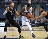 NCAA Men's Basketball - AAC Tournament FR - #7 Tulsa 66 vs. #10 Tulane 60 (42)