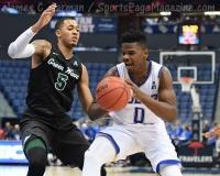 NCAA Men's Basketball - AAC Tournament FR - #7 Tulsa 66 vs. #10 Tulane 60 (43)