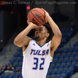 NCAA Men's Basketball - AAC Tournament FR - #7 Tulsa 66 vs. #10 Tulane 60 (46)