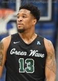 NCAA Men's Basketball - AAC Tournament FR - #7 Tulsa 66 vs. #10 Tulane 60 (49)