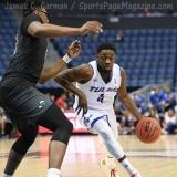 NCAA Men's Basketball - AAC Tournament FR - #7 Tulsa 66 vs. #10 Tulane 60 (54)