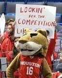 NCAA Men's Basketball AAC Tournament QF's - #3 Houston 65 vs. #6 UConn 74 (12)