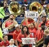 NCAA Men's Basketball AAC Tournament QF's - #3 Houston 65 vs. #6 UConn 74 (13)