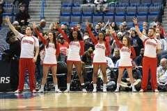 NCAA Men's Basketball AAC Tournament QF's - #3 Houston 65 vs. #6 UConn 74 (14)