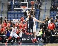 NCAA Men's Basketball AAC Tournament QF's - #3 Houston 65 vs. #6 UConn 74 (18)