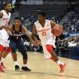 NCAA Men's Basketball AAC Tournament QF's - #3 Houston 65 vs. #6 UConn 74 (23)