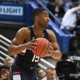NCAA Men's Basketball AAC Tournament QF's - #3 Houston 65 vs. #6 UConn 74 (27)