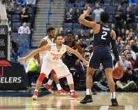 NCAA Men's Basketball AAC Tournament QF's - #3 Houston 65 vs. #6 UConn 74 (28)
