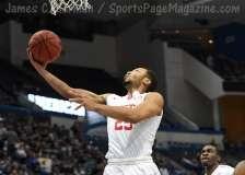NCAA Men's Basketball AAC Tournament QF's - #3 Houston 65 vs. #6 UConn 74 (29)