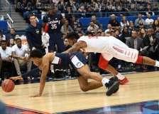 NCAA Men's Basketball AAC Tournament QF's - #3 Houston 65 vs. #6 UConn 74 (31)