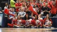 NCAA Men's Basketball AAC Tournament QF's - #3 Houston 65 vs. #6 UConn 74 (36)