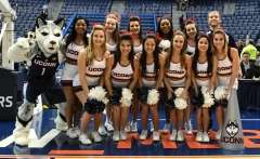 NCAA Men's Basketball AAC Tournament QF's - #3 Houston 65 vs. #6 UConn 74 (4)