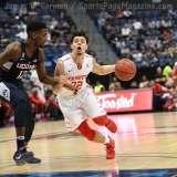 NCAA Men's Basketball AAC Tournament QF's - #3 Houston 65 vs. #6 UConn 74 (43)