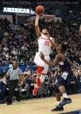 NCAA Men's Basketball AAC Tournament QF's - #3 Houston 65 vs. #6 UConn 74 (45)