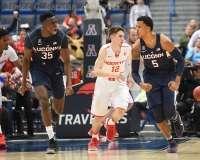 NCAA Men's Basketball AAC Tournament QF's - #3 Houston 65 vs. #6 UConn 74 (47)