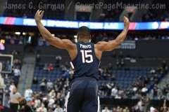 NCAA Men's Basketball AAC Tournament QF's - #3 Houston 65 vs. #6 UConn 74 (50)