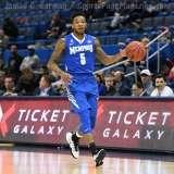 NCAA Men's Basketball - AAC Tournament QF's - #4 UCF 84 vs. #5 Memphis 54 (17)