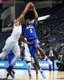 NCAA Men's Basketball - AAC Tournament QF's - #4 UCF 84 vs. #5 Memphis 54 (23)