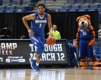 NCAA Men's Basketball - AAC Tournament QF's - #4 UCF 84 vs. #5 Memphis 54 (25)