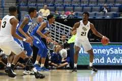 NCAA Men's Basketball - AAC Tournament QF's - #4 UCF 84 vs. #5 Memphis 54 (34)