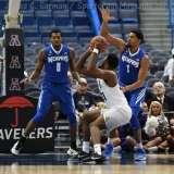 NCAA Men's Basketball - AAC Tournament QF's - #4 UCF 84 vs. #5 Memphis 54 (35)