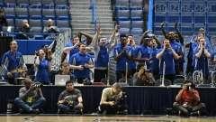 NCAA Men's Basketball - AAC Tournament QF's - #4 UCF 84 vs. #5 Memphis 54 (37)