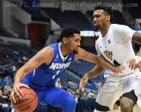 NCAA Men's Basketball - AAC Tournament QF's - #4 UCF 84 vs. #5 Memphis 54 (38)