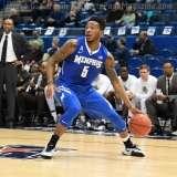 NCAA Men's Basketball - AAC Tournament QF's - #4 UCF 84 vs. #5 Memphis 54 (39)