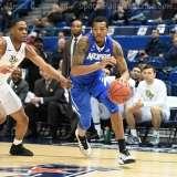NCAA Men's Basketball - AAC Tournament QF's - #4 UCF 84 vs. #5 Memphis 54 (44)