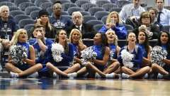 NCAA Men's Basketball - AAC Tournament QF's - #4 UCF 84 vs. #5 Memphis 54 (46)