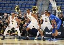NCAA Men's Basketball - AAC Tournament QF's - #4 UCF 84 vs. #5 Memphis 54 (48)