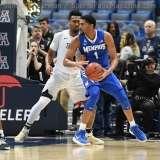 NCAA Men's Basketball - AAC Tournament QF's - #4 UCF 84 vs. #5 Memphis 54 (49)