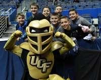 NCAA Men's Basketball - AAC Tournament QF's - #4 UCF 84 vs. #5 Memphis 54 (6)
