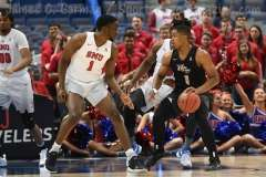 NCAA Men's Basketball AAC Tournament SF's - #1 SMU 70 vs. #4 UCF 59 (18)