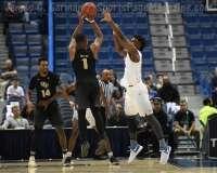 NCAA Men's Basketball AAC Tournament SF's - #1 SMU 70 vs. #4 UCF 59 (23)