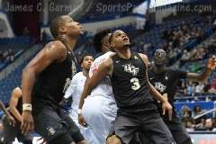 NCAA Men's Basketball AAC Tournament SF's - #1 SMU 70 vs. #4 UCF 59 (42)