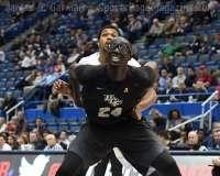 NCAA Men's Basketball AAC Tournament SF's - #1 SMU 70 vs. #4 UCF 59 (43)