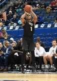 NCAA Men's Basketball AAC Tournament SF's - #1 SMU 70 vs. #4 UCF 59 (51)