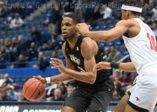 NCAA Men's Basketball AAC Tournament SF's - #1 SMU 70 vs. #4 UCF 59 (53)